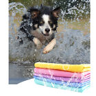 Absorbent Pet Dog Drying Towel Swim Bath Shower Towel Grooming Tool Random Color