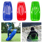 Snow Sled Sledge Downhill Toboggan Board Sleigh Outdoor Luge Grass Game for Kids