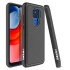 For Motorola Moto G Play 2021 Case Shockproof Rugged Dual Layer TPU Armor Cover