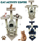 115cm Cat Tree Climb Scratching Post Playing Activity Centre Toy Scratcher 4s