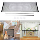 Portable Folding Safety Gate Guard Mesh Fence Indoor Outdoor For Dogs