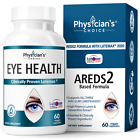 PHYSICIAN'S CHOICE EYE HEALTH SUPPLEMENT 60 Capsules ( 1/3/6 Bottle )