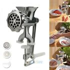 Hand Manual Meat Grinder Mincer Stuffer Sausage Pasta Filler Maker Table Machine