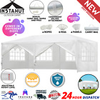 Gazebo Party Wedding Marquee Market Event Tent Shade Canopy Camping Outdoor Yard