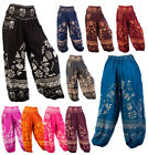 Thai Elephant Pants Womens Graphic Prints Hippie Aladdin Harem Tribal Beach Yoga