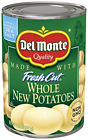 Del Monte Canned Fresh Cut Whole New Potatoes, 14.5-Ounce (Pack of 12)