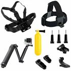 Chest Head Strap Mount Float Grip 3-Way Bracket For GoPro 9 8 7 6 5 4 3 3 2 1