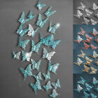 Multicolor 3d Swallowtail Butterfly Hollow Wall Stickers Room Home Wedding Decor