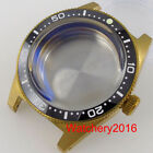40mm 62MAS Real Solid Bronzed Diving Bronzed Steel Automatic Watch Case fit NH35