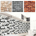 Waterproof Self Adhesive Subway Sliver Tile Wall Sticker Kitchen Home Diy Decor