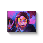 John Lennon Beatles Painting Gallery Wrapped Canvas Print