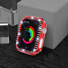 For Apple Watch Series 6/5/4/3/2 Diamond Glitter Clear iWatch Bumper Case Cover