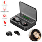 Mini Bluetooth Wireless Headset Earphones Hifi Music Earbuds Noise Reduction