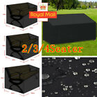 2/3/4 Waterproof Seater Cover Furniture Bench Outdoor Cube Seat Covers Garden Uk