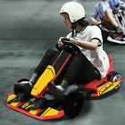 Electric Go Karting Car Outdoor Race Pedal With Flashing Lights Gift For Kids