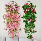 Flower Artificial Flower Vine Hanging Home Morning Outdoor Accessories