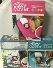 Cozy Cover Infant Carrier Cover Protects From Outdoor Elements Pink Camo or Pink