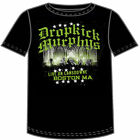 Dropkick Murphys Live on Lansdown Black Adult T-shirt