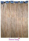 Quick Clip Light Brown Clip In HUMAN HAIR EXTENSION #8