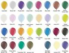 "100 Metallic 5"" size round Latex Small Party Balloons 27 colours"