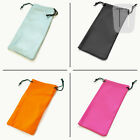 NEW SPECTACLE GLASSES SUNGLASSES POUCH BAG SOFT CASE BN