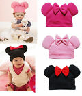 BABY MINNIE HAT WITH EARS AGE 0-2 YEARS