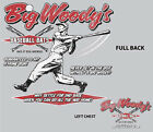 Big Woody Baseball Grey Adult T-shirt