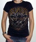 "Evile ""Five Serpent's Teeth"" Girlie Skinny Fit T-shirt - NEW OFFICIAL"