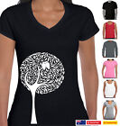 Funny T-Shirts Owl birds in tree design original cool Aussie Prints sizes colour