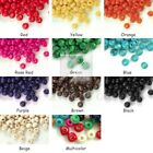 Wholesale 1410pcs wooden beads 3x4mm round choose from 10 colours free ship