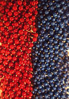 Blue Red Giants Mardi Gras Beads Football Tailgate Party Favors 24 48 72 144