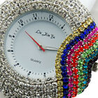 NEW Ladies Rubber Crystal Fashion Woman Bling Bling Vogue Watch 3 Color