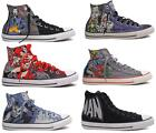 NEW CONVERSE DC COMICS JOKER BATMAN SUPERMAN ALL STAR CHUCK TAYLOR SHOES 6 MODEL
