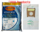 Bosch Canister Vacuum Cleaner Type G Allergy Bags BBZ51AFG2U Part# 206 Electro