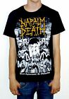 "Napalm Death ""From Enslavement To Obliteration"" Vintage Print T-shirt - NEW!"