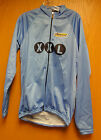 CYCLING Long Sleeve Jersey - Blue Sizing Sample by Inverse