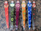 Russian Doll Slanted Eyebrow Precision Tweezers Pluckers Choice of 6 Colours