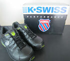 Mens K Swiss Trainers - Tubes - Black / Silver / Bright Green - 02642038