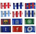 OFFICIAL FOOTBALL CLUB - Flags {Plaza/Checked/Crested Stripes/St.George}