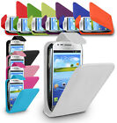 LEATHER FLIP CASE COVER FOR SAMSUNG GALAXY S3 MINI I8190 FREE SCREEN PROTECTOR