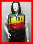 RASTA - Detachable Hood Gilet Body Warmer Hooded Puffer Vest Sleevless Jacket