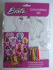 CHARACTER THEMED A4 COLOURING SETS (+Stickers Pencils) Large Range Available