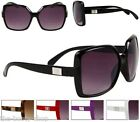 NEW D.E SUNGLASSES DESIGNER WOMENS LADIES GIRLS WRAP BIG LARGE UV400 BLACK G-576