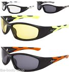 SPORTS SUNGLASSES DESIGNER MENS WOMENS BOY BIKER BIKE LARGE BLACK WRAP UV400 X25