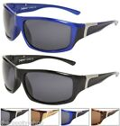 SPORTS SUNGLASSES POLARISED UV400 BLACK MENS WOMENS BOYS BIKER FISHING WRAP X602