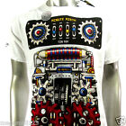 Minute Mirth T-Shirt Tattoo Punk bmx Rock H148 Sz M L Skate Board Indie Street