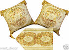 Brocade Cushion/Pillow Cover,Table Runner, Matched set (01E)
