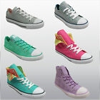New Boys Girls Unisex All Star Chuck Taylor Converse Plimsolls Hi top Shoes Size