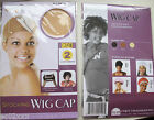 STOCKING WIG CAP LIGHT & ULTRA STRETCH CONTROLS HAIR WITHOUT PINS BLACK OR NUDE