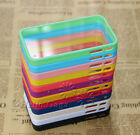 12 Colors TPU Bumper Frame Ultra Back Cover Clear Hard Case For iPhone 4 4G 4S